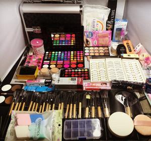 专业化妆师彩妆套装化妆品<span class=H>美妆</span>工具全套组合影楼新娘初学培训cos