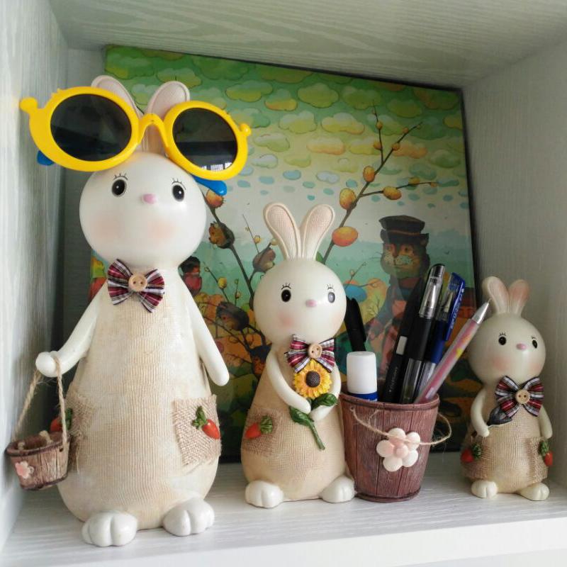 创意可爱兔子韩国时尚节日储蓄罐(非品牌)