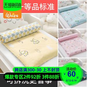 幼儿园午睡宝宝铺被婴儿床垫被褥垫