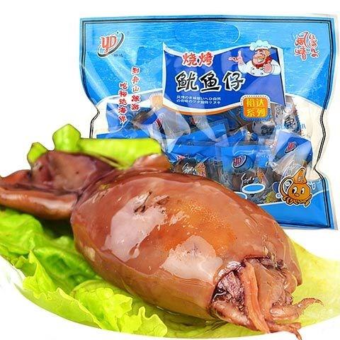 舟山带籽鱿鱼仔150/250/450克多规格海兔 墨鱼仔休闲食品小吃