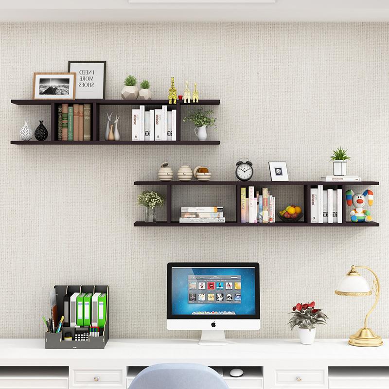 墙上置物架壁挂墙柜卧室墙面架客厅电视背景墙装饰创意隔板书架子