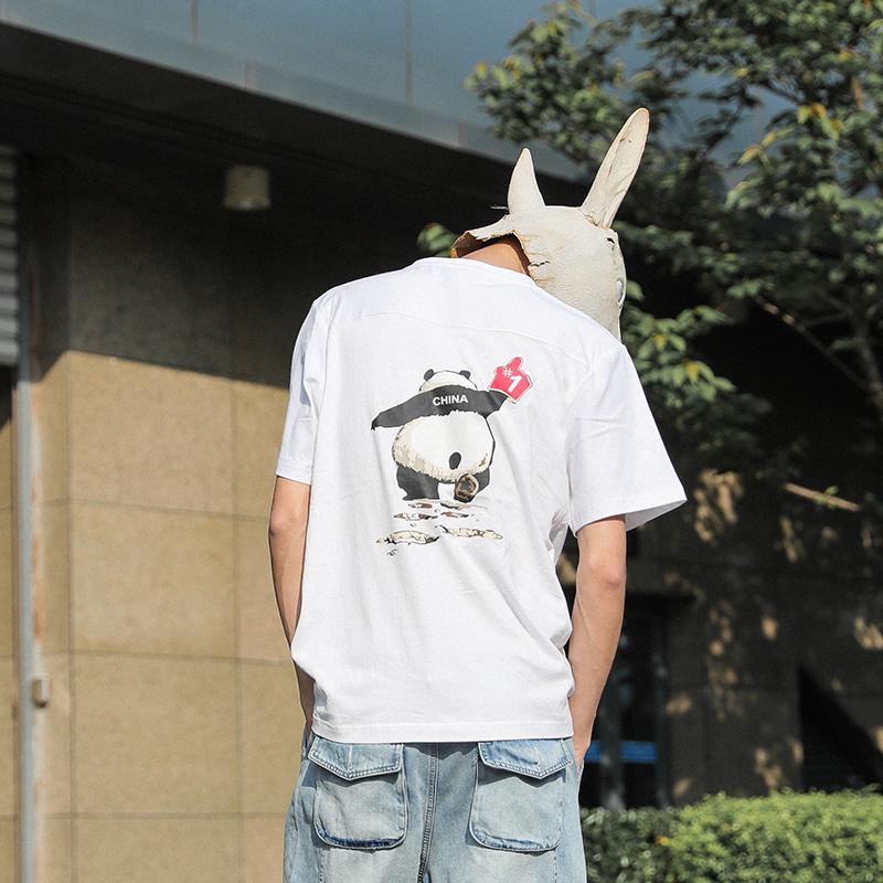 69.00元包邮lmtnzd夏季短袖t恤男士圆领打底衫