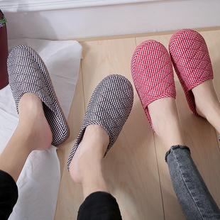 轻便防滑棉拖鞋