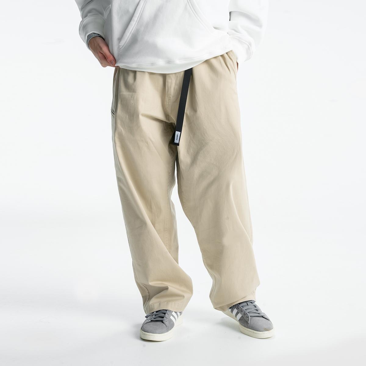 714street 20AW 男士休闲裤薄款新款男女宽松潮流长裤男装裤子潮图片