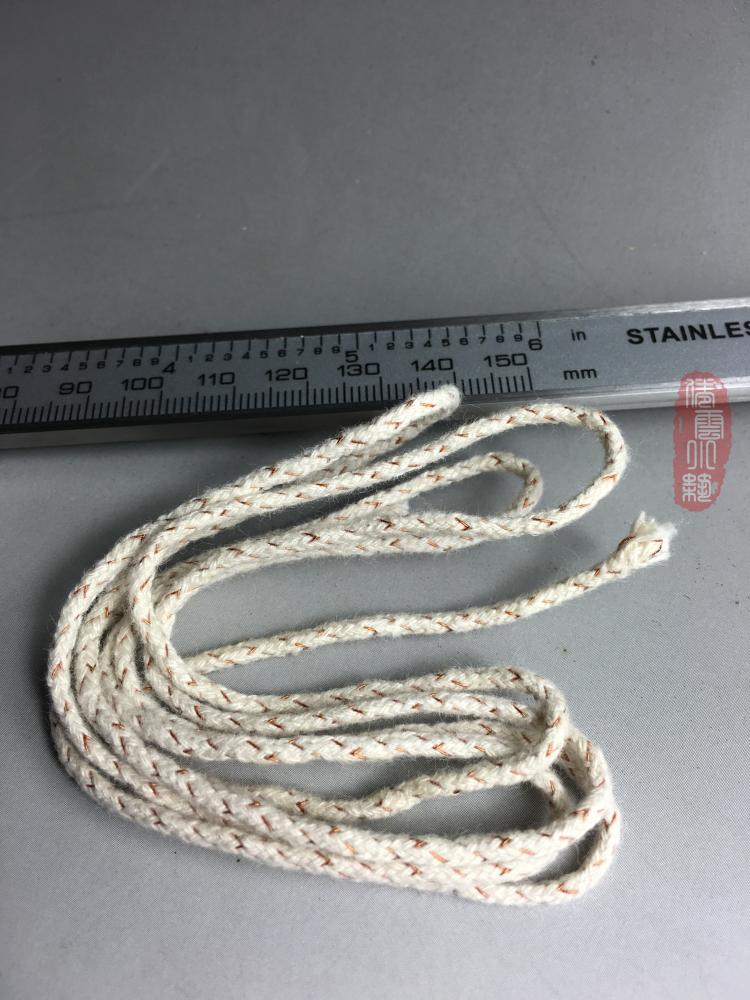 1米长2.5MM粗棉芯耐用导油好ZIPPO佐罗古董防风煤油打火机通用