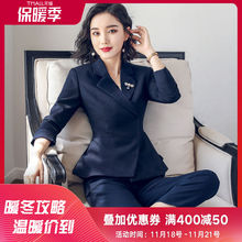 2019 new professional fashion suit suit for women's slim work clothes ol temperament formal suit overalls