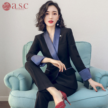 Suit new professional suit fashion ol formal dress women's interview work dress temperament slim professional dress women's suit