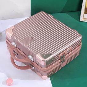 手提行李箱化妆包女14寸小型收纳箱