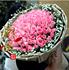 重庆鲜花店速递99朵粉玫瑰鲜花束生日爱情表白同城送花上门