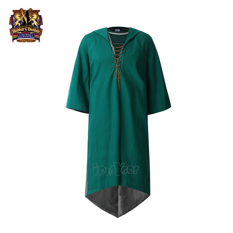 哈利波特 校服服装魁地奇运动服斯莱特林现货魁地奇袍子比赛球衣