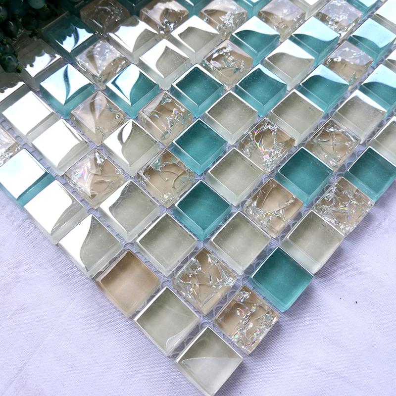 地中海水晶玻璃马赛克卫生间阳台限时2件3折