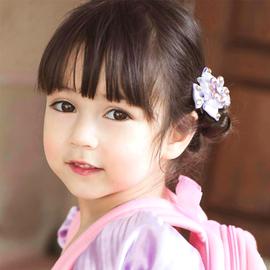 吉拉达莫兰混血漂亮女宝宝海报胎教画报萌娃早教BB墙贴画小女孩画图片