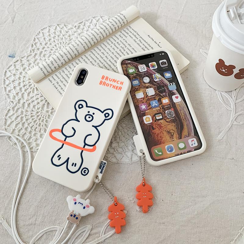 适用苹果11max手机壳xr保护套iphone7/8/6plus防摔软硅胶5s全包4s