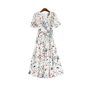 香妮卡2021夏季新款法式优雅连衣裙
