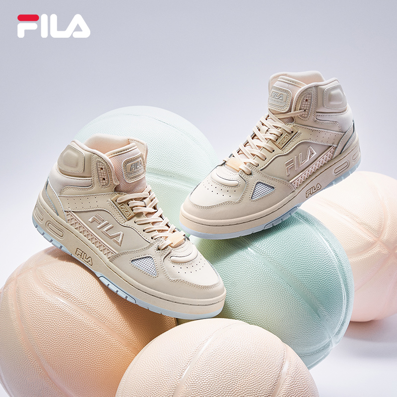 FILA Fiile official basketball shoes female 2021 spring high school shoes couple new basketball shoes men's basketball network
