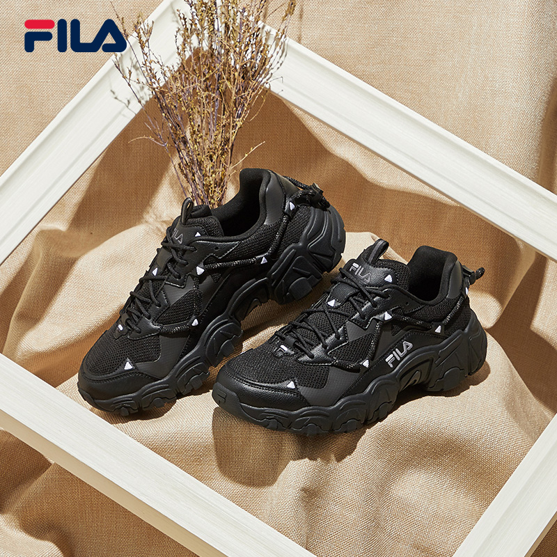 Cai Xukun the same FILA Fila cat claw shoes women's shoes men's old shoes 2021 spring new sports shoes