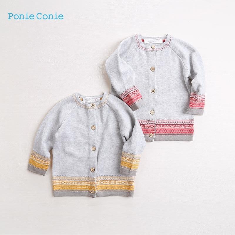 女童毛衣开衫2019春款韩版婴儿针织开衫女宝宝针织衫洋气小童线衣