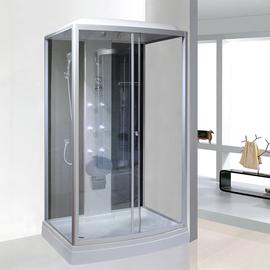 长方形整体淋浴房家用钢化玻璃浴室洗澡间一体式卫生间封闭式隔断