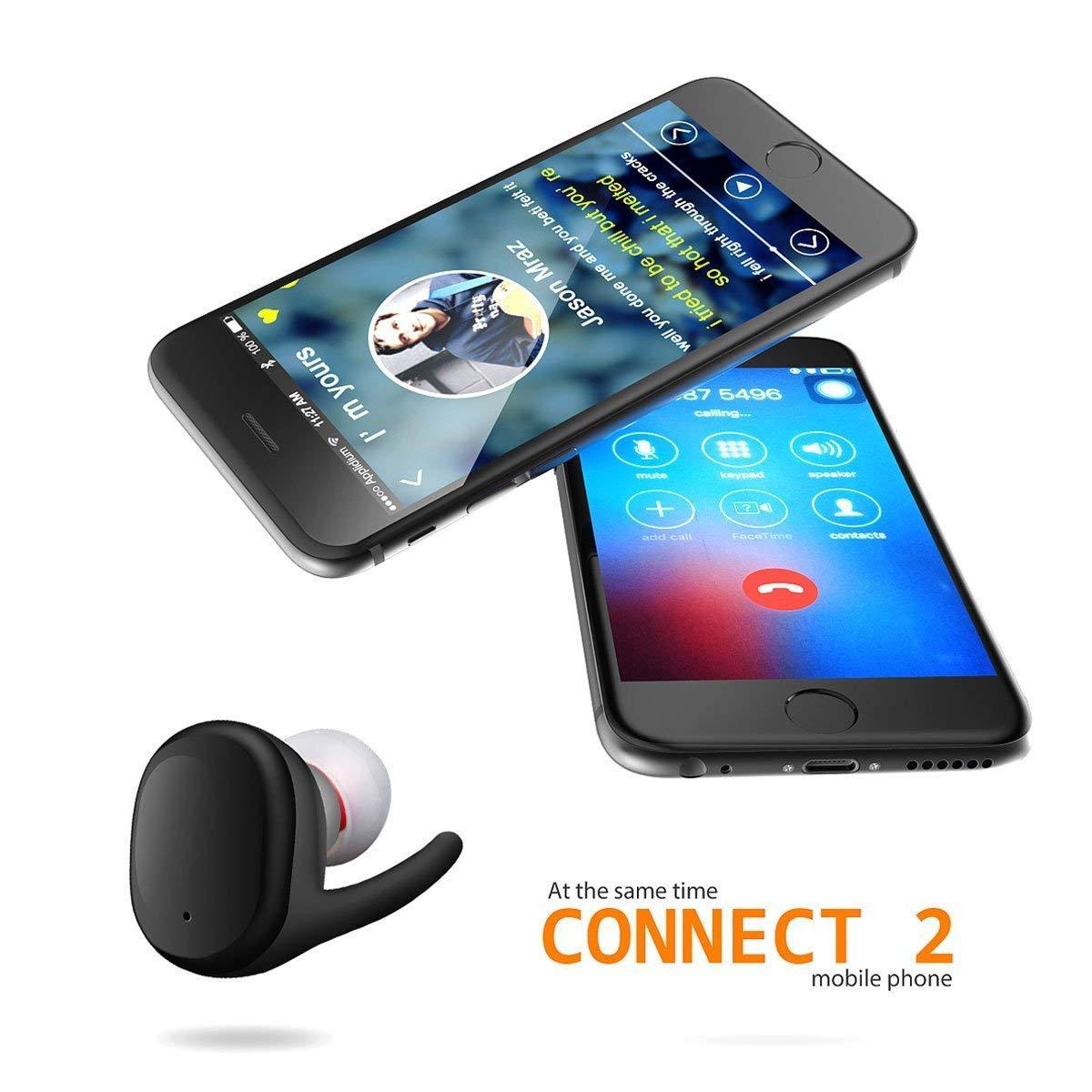 新款蓝牙运动耳机touch two双耳分离触摸式防水耳机无线蓝牙耳机
