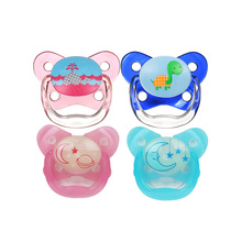 Dr. Brown's American Imported Baby Pacifier Super Soft Sleeping Baby Pacifier Night Light Pacifier Silica Gel
