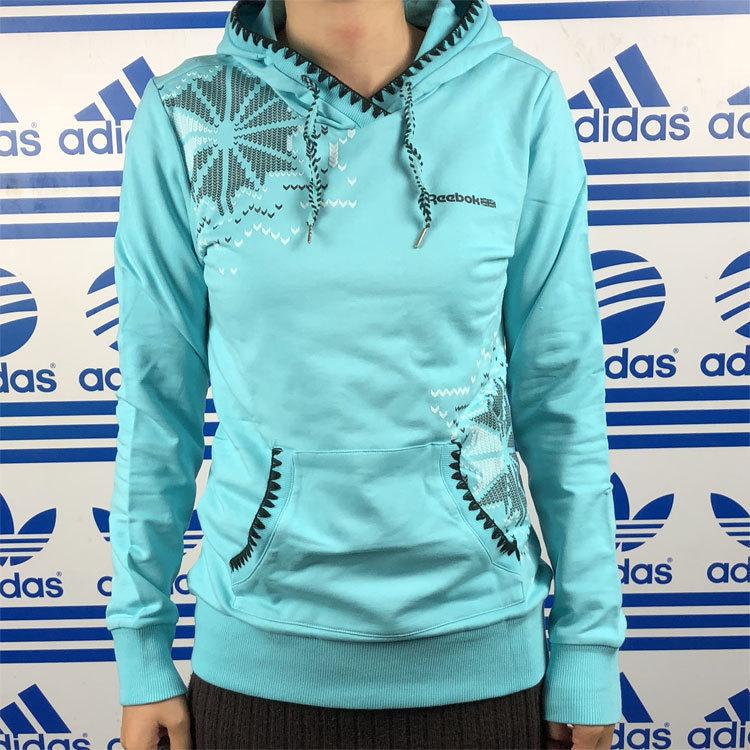 Reebok/锐步 女子跑步运动套头卫衣套头衫  K84444