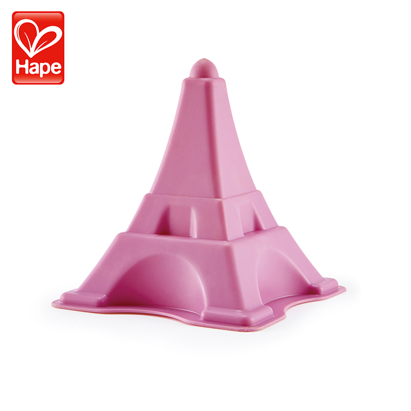 Hape沙灘玩具埃菲爾鐵塔1~2~6歲玩沙挖沙工具兒童寶寶戲水玩具