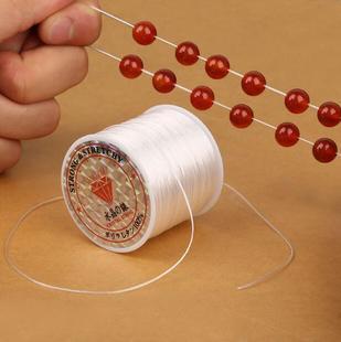 diy饰品配件串珠弹力丝线松紧绳水晶手链鱼线佛珠文玩手串线