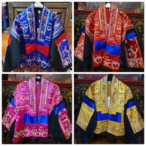 云南民族风女装复古少数名族服装女大理衣服款刺绣花丽江上衣外套