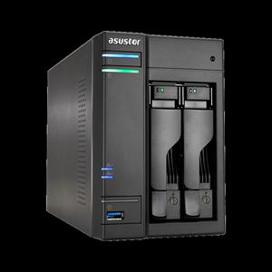领20元券购买asustor 华芸AS6202T 2盘位四核心 网络存储服务器 存储器 NAS