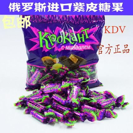 俄罗斯kdv紫皮kpokaht进口巧克力