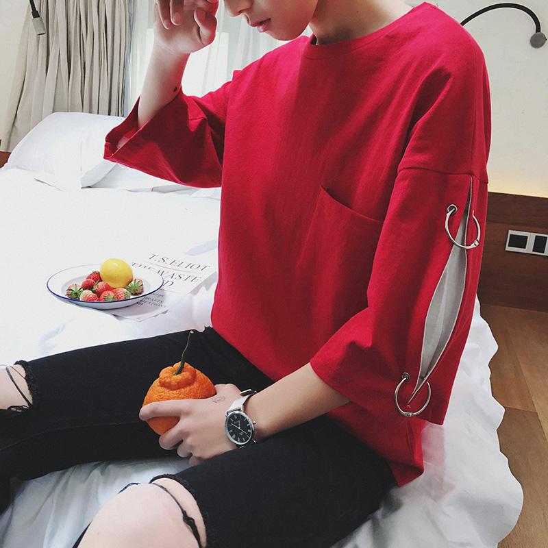 Mùa hè ins siêu quần cháy nam Hàn Quốc phiên bản của xu hướng chín quần mỏng hoang dã giản dị sinh viên thể thao feet Harlan