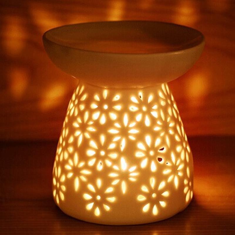 Цветы пароль ароматерапия свет печь лаванда масло свет масло печь свеча керамика украшение спальня использование