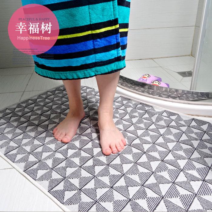 大きめサイズのナプキンセット!綿のタオル生地を綿の浴室に敷き、滑り止めの吸水マットを洗濯します。
