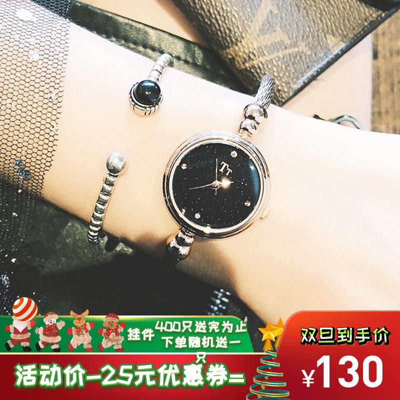 女装手表防水时尚款女2018新款网红精致链条潮流气质防水简约小巧