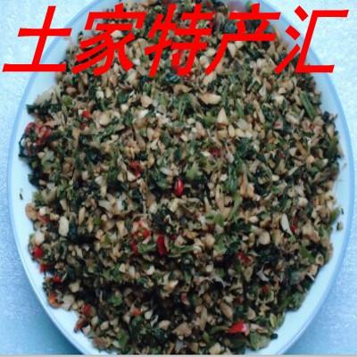 湖北恩施利川 土特产 特色盐菜农家制作大头盐菜咸菜腌菜坛子菜