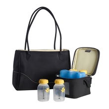 Meidele City Beauty Bag multi function bag large capacity fashion Mommy bag out bag mother baby bag back milk equipment