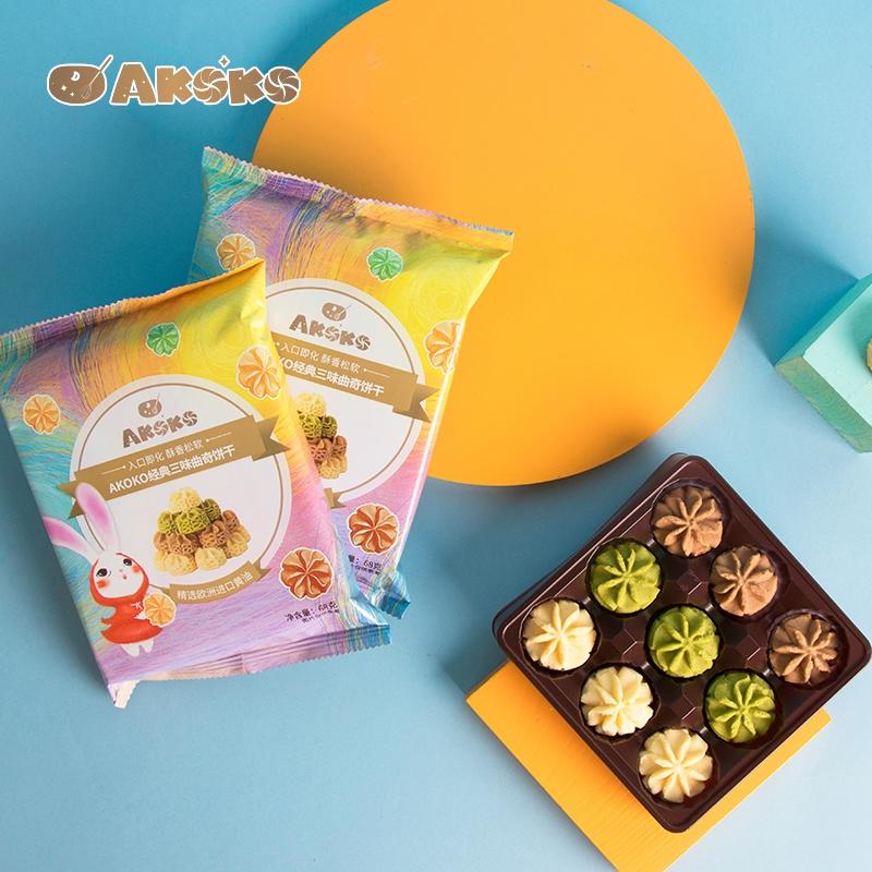 Akoko cookies 230g snack pattern cake snack food leisure food delicious snack net red