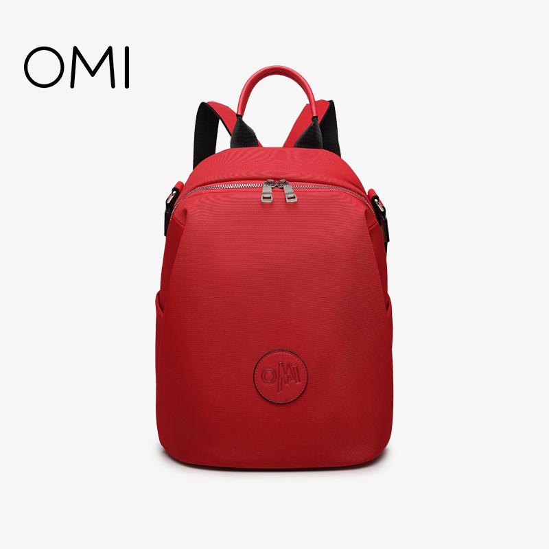 OMI/欧米ショルダーバッグ女性2020新型シンプル防水オックスフォードバックパック学院風カバン