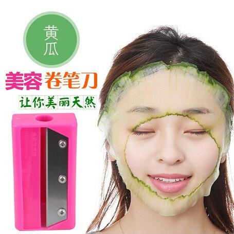 黄瓜面膜美容卷笔刀黄瓜面膜器超薄削青瓜刨刀黄瓜美容切片器工具