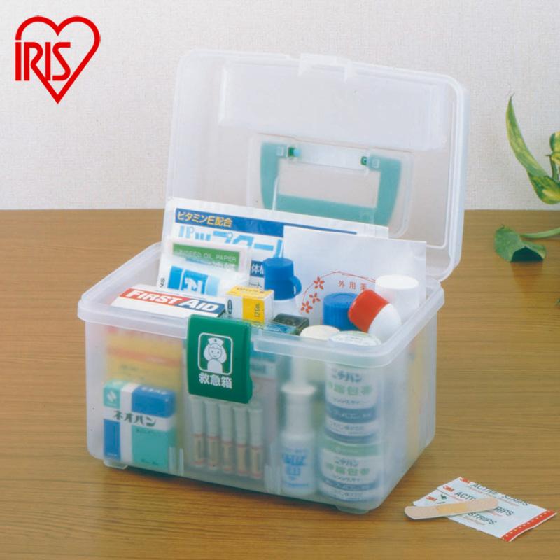 愛麗思IRIS 家庭 可調節衛生儲藥箱環保樹脂整理箱QB~180 150