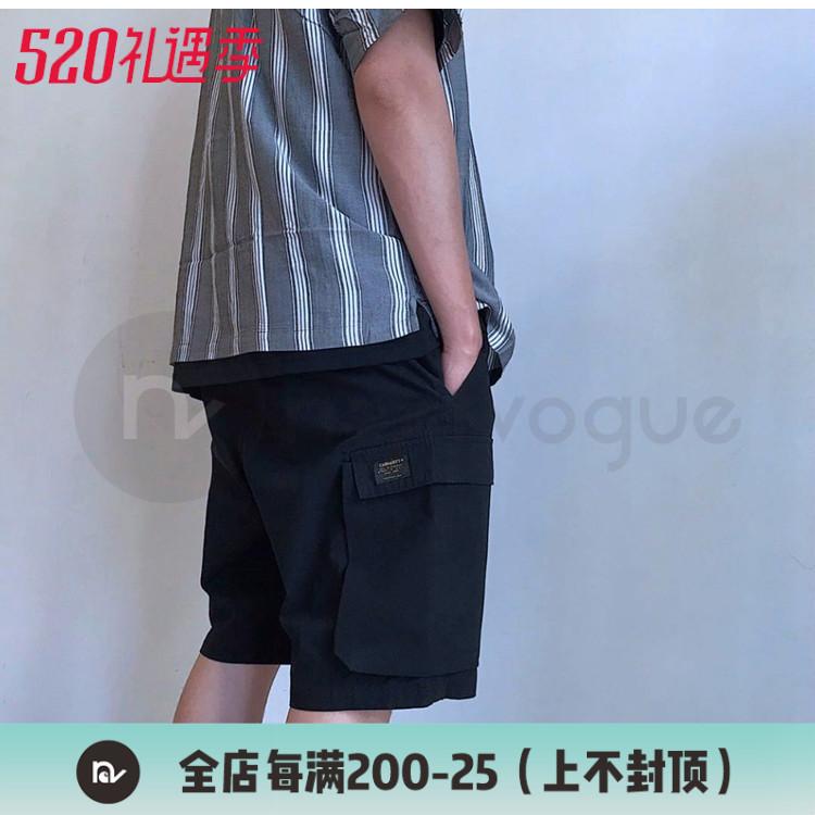【NextVogue】carhartt wip troop short 工装大兜军裤短裤三色