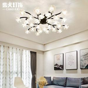 北欧灯具客厅灯卧室书房灯饰现代简约创意个性风格温馨浪漫吸顶灯