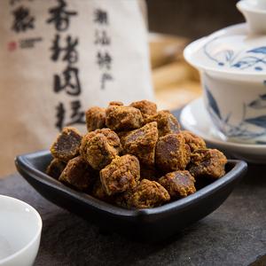 五香猪肉粒XO酱猪肉干袋装零食潮汕特产手信休闲即食肉类肉脯小吃