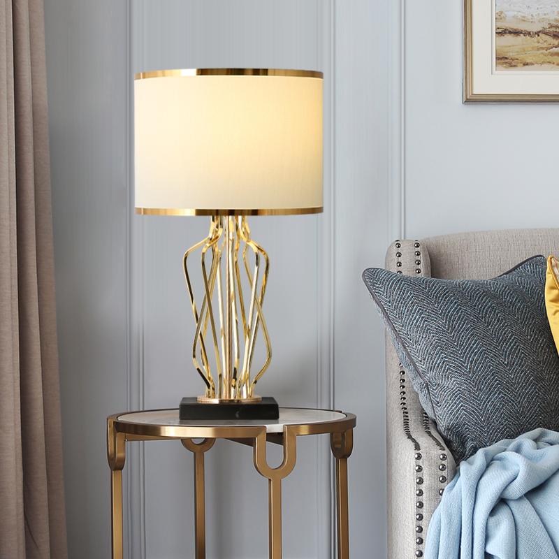 轻奢后现代创意床头灯美式卧室台灯