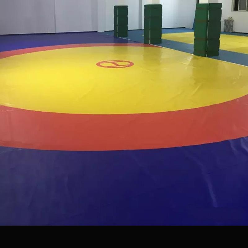 Ушу Санда боксерские кольца корпус один Тренировочный игровой коврик корпус один Дзюдо-мат накладка ткань корпус Ткань ПВХ