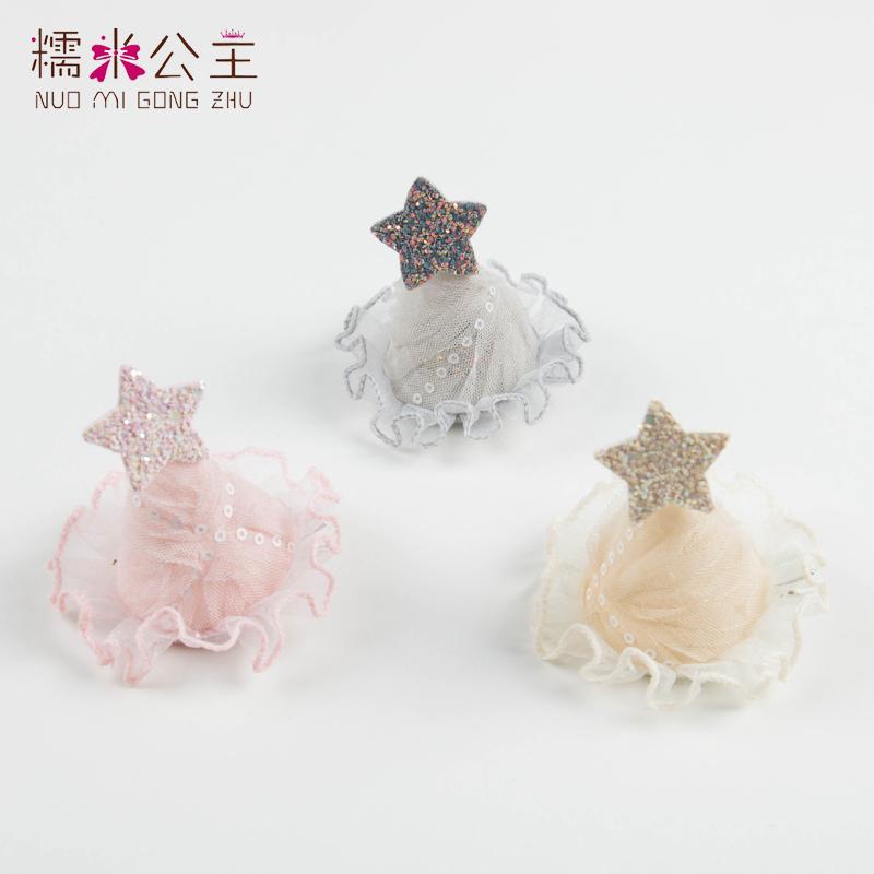 10.80元包邮糯米公主女童生日韩国儿童简约发夹