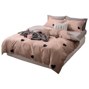 床上用品床单被套四件套纯棉简约现代学生