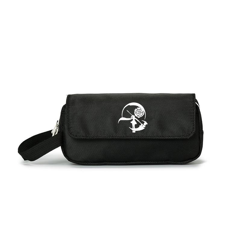 Four color war period rwby little ugly girl animation film around the same type of students large capacity simple pencil bag