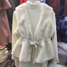 仿兔毛皮草马甲女2018秋季新款韩版时尚收腰显瘦系带毛毛外套套装