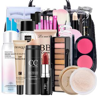 彩妆化妆品套装正品全套组合一套盒初学者大学生女新手入门裸淡妆图片
